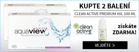 Aquaview Moist - Clean Active zdarma